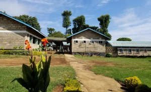 kenya Ruiga girls school exterior