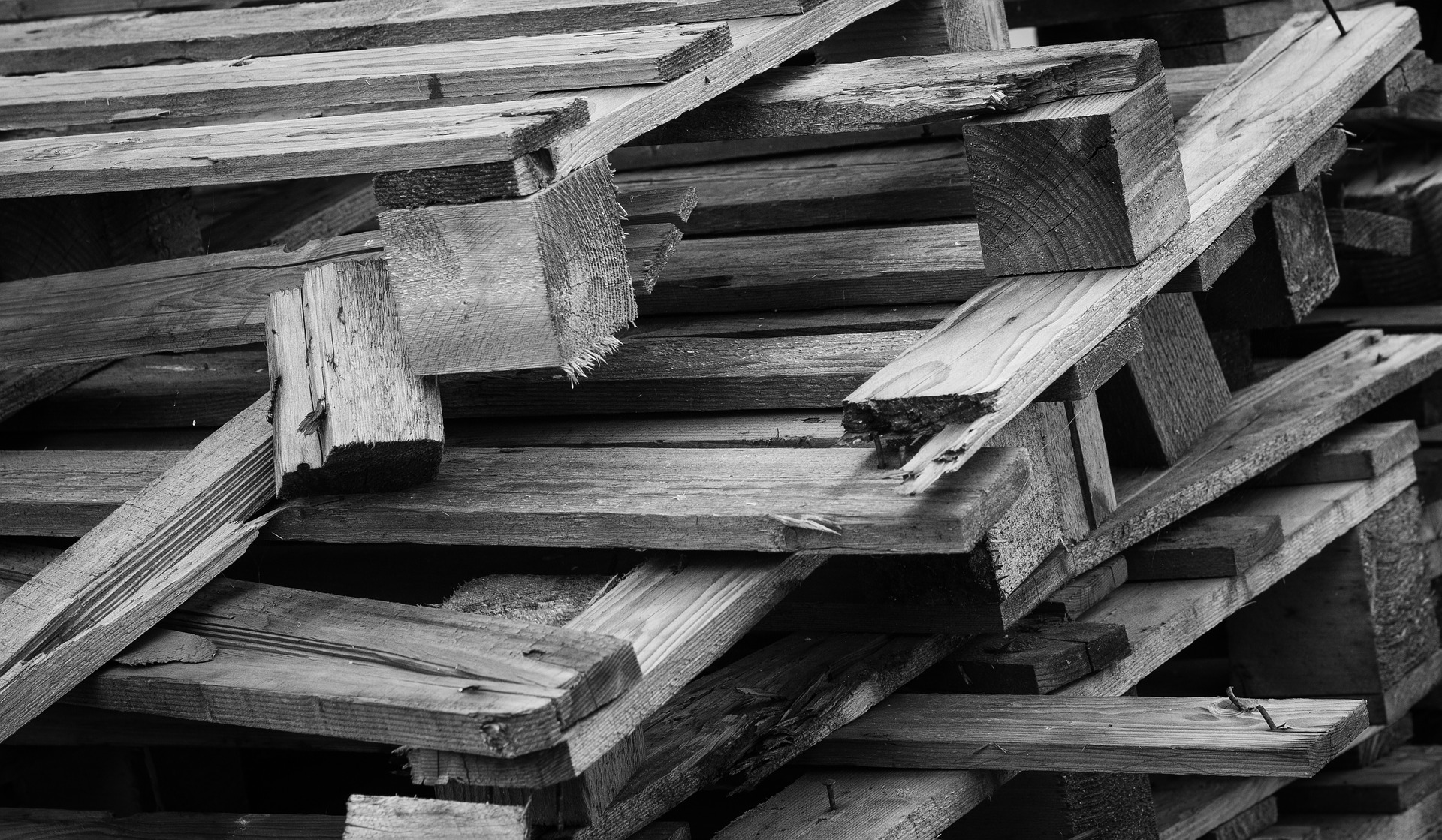 stack of wooden pallets example ofwhat was hit by ar in God incident