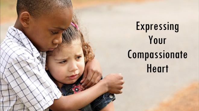 ethnically diverse children giving comfort